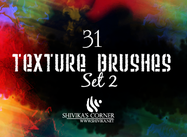 Texture Brushes Set 2