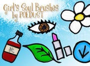 Girl's Soul Brushes by Poedust