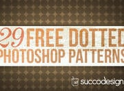 Punktiert und Pois Photoshop Patterns