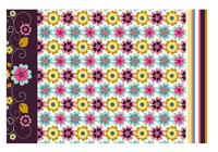 Floral Wallpaper och Pattern Pack