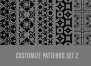 Customize patterns set 2