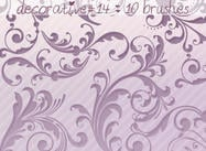 Decorative Brushes 14