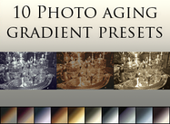 Photo-aging-gradients