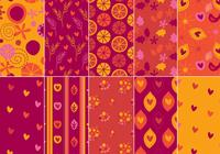 Festligt Photoshop Pattern Pack