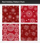 Red Holiday Patterns de Photoshop