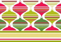 Retro Red and Green Photoshop Pattern & Wallpaper