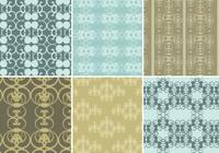 Vintage Holiday Photoshop Patterns & Wallpaper