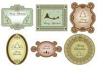 Vintage-merry-christmas-label-brush-pack-photoshop-brushes