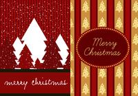 Red Christmas Photoshop Wallpaper Pack