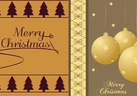 Pacote de papel de parede do Christmas Tree & Ornament Photoshop