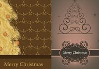 Kerstboom Photoshop Wallpaper Pack