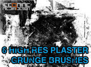 Ice 9 High Res Gips Grunge Borstels