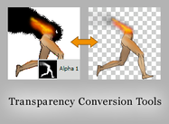 Outils de conversion de transparence