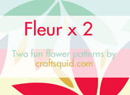Fleur x 2 Muster
