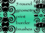 5-round-geometry-border-brushes