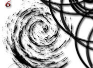 6 brosses spirales