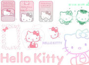 Hallo kitty brushes