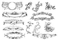 Antique Scroll Ornaments