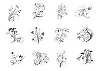 Floral Flourish Brushes