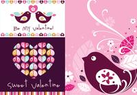 Sweet Valentine Wallpaper und Brush Pack