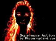 Supernova Effect Photoshop Action