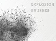 Pinceaux à explosion gratuits