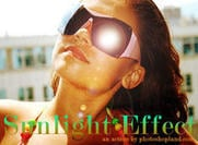 Action Sunlight Effect Photoshop