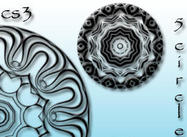 5 cepillos libres del círculo