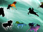Hästar former!