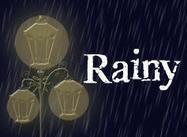 Regnig storm