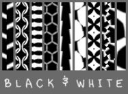 Black & White & Tiled All Over Patterns