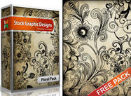 Gratis Floral Brush Pack