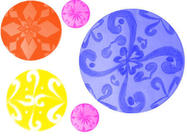 Pinceaux à cercle