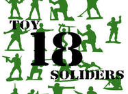 18 Toy Soldier Brushes