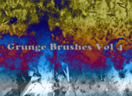 Brushes de Grunge Vol.4