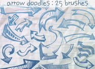 Arrow Doodles Brushes