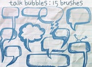 Diskussion Bubbles Doodles