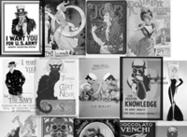 Vintage Posterborstels