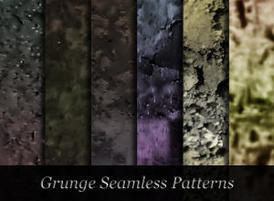 Photoshop seamless dark grunge patterns