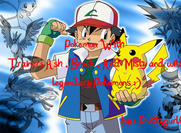 Pokemon Brushez With Trainers And Legendary Pokemons