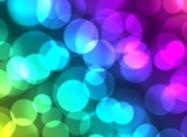 Epic Glossy Rainbow Bokeh