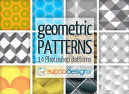 Photoshop: 14 High Resolution Geometric Patterns