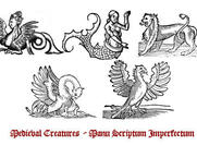 Medieval Creature Brushes