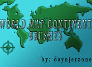 World_map_continent_by_daynjerzone