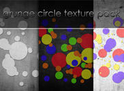 Circle Abstract Grunge Texture Pack de