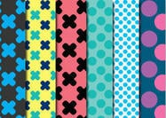 Dots & Crosses Patterns