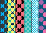 Dots & Crosses Patterns