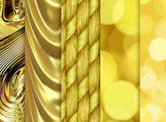 Oro, patrones brillantes