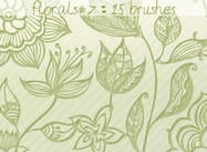 Floral Brushes 7