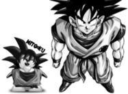 Goku borstar